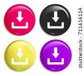 download button multi color...