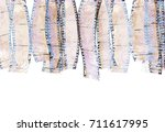 old film strip with some spots | Shutterstock . vector #711617995
