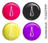 oil multi color glossy badge...