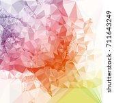 geometric low polygonal...   Shutterstock .eps vector #711643249
