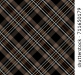 seamless plaid pattern | Shutterstock .eps vector #711650179