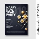 vector illustration of happy... | Shutterstock .eps vector #711654769