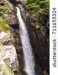 waterfall in the high tatras | Shutterstock . vector #711655324