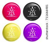 christmas tree multi color...
