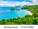 trunk bay  st john  united... | Shutterstock . vector #711670987