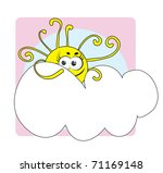 weather icon cloudy | Shutterstock . vector #71169148