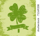 Illustration Of Clover With...