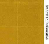 yellow leather texture seams | Shutterstock . vector #711698131