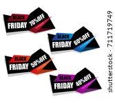 black friday | Shutterstock .eps vector #711719749