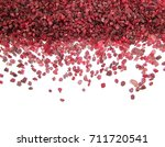 colorful ruby gemstone isolated ... | Shutterstock . vector #711720541