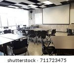 empty business meeting room | Shutterstock . vector #711723475