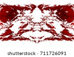 red black white aged grunge... | Shutterstock . vector #711726091