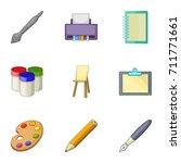 design equipment icons set....
