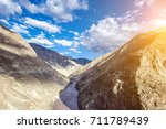 canyon landscape  nujiang river ... | Shutterstock . vector #711789439