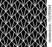 interlocking polygons... | Shutterstock .eps vector #711791569