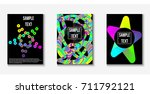 contemporary abstract cover. a... | Shutterstock .eps vector #711792121