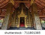 luang prabang  laos   september ... | Shutterstock . vector #711801385