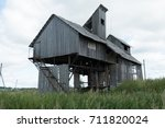 Abandoned Wooden Building