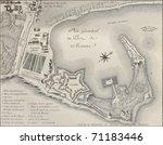 Постер, плакат: Port of Messina plan