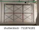 Small photo of Provide scaffolding for construction work.