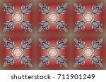 holiday design for christmas... | Shutterstock . vector #711901249