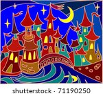 Fairy Tale Town  Stained Glass...