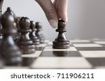 international chess day chess... | Shutterstock . vector #711906211