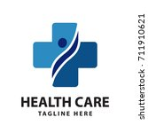 health care logo | Shutterstock .eps vector #711910621