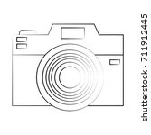 photographic camera icon image | Shutterstock .eps vector #711912445
