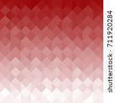 red geometric texture with... | Shutterstock . vector #711920284