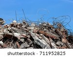 Pile Of Rubble From A...