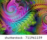abstract shine glass... | Shutterstock . vector #711961159