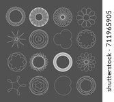 Vector Mathematical Spirograph...