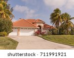 typical southwest florida... | Shutterstock . vector #711991921