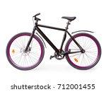 Black Fixed Simple Urban Bike...