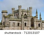 lowther castle at penrith in...   Shutterstock . vector #712013107