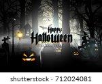 halloween. | Shutterstock .eps vector #712024081