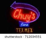austin  texas   march 7  2014 ... | Shutterstock . vector #712034551
