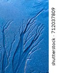 Small photo of Alluvium image. Blue nature background.