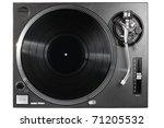 Isolated Dj Turntable Vinyl...