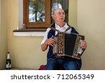 suzdal  russia   august 19 ... | Shutterstock . vector #712065349