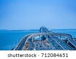 highway and sea | Shutterstock . vector #712084651