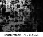 vintage black and white texture | Shutterstock . vector #712116961