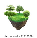 fantasy world | Shutterstock . vector #71212558