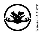 pet care logo   Shutterstock .eps vector #712131745