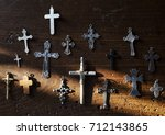 Small photo of Cross christianity symbol religion