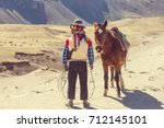 authentic guide service in... | Shutterstock . vector #712145101