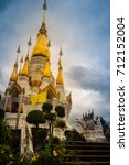 Beautiful Golden Pagoda With...