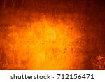 yellow background cement wall   | Shutterstock . vector #712156471