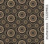 seamless pattern oriental... | Shutterstock .eps vector #712209811